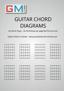 Guitar Chord Diagrams book